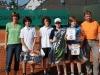 Siegerehrung Jungen, Dunlop-Club-Trophy