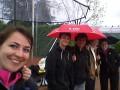Die TCE Damen genießen das Wetter