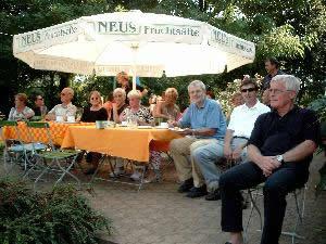 Clubhaus Terasse